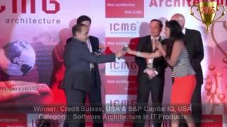Credit Suisse, USA and S&P capital IQ won in n IT Products category