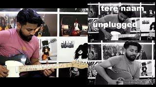 Tere naam guitar