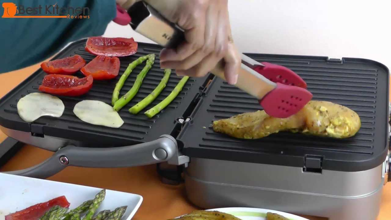 Cuisinart Griddler GR 4N 5 In 1 Review And Weeknight Meal Recipe   YouTube