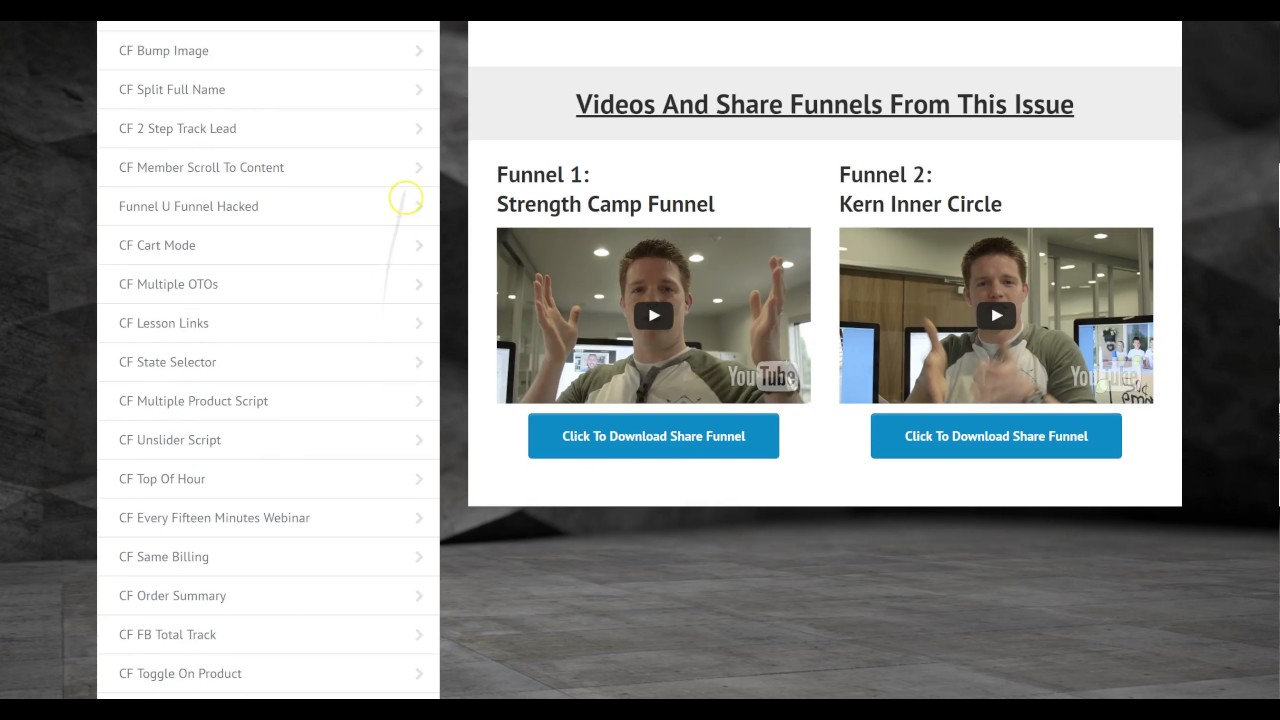 Funnel University + CF PRO Tools - Review & Demo With Danny Walsh [Click Funnels Tutorials]