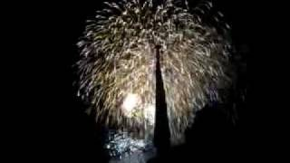 Fireworks on Luxembourg National Holiday: Grand Duke
