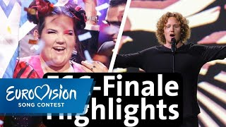 Eurovision Highlights des Finales 2018 | Eurovision Song Contest
