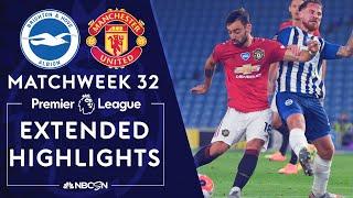 Brighton V. Manchester United   Premier League Highlights   6/30/2020   Nbc Sports