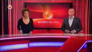 Evelien de Bruin presenteert Shownieuws