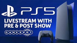 PS5 Showcase Livestream With Pre and Post Show