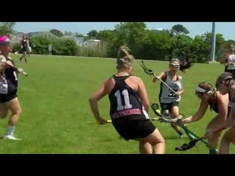Maria Schneider #28 (York Invaders 2020) Beach Lax OCMD #4