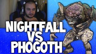 Destiny: Live Weekly Nightfall (Char 2) - Summoning Pits / Phogoth (Facecam)