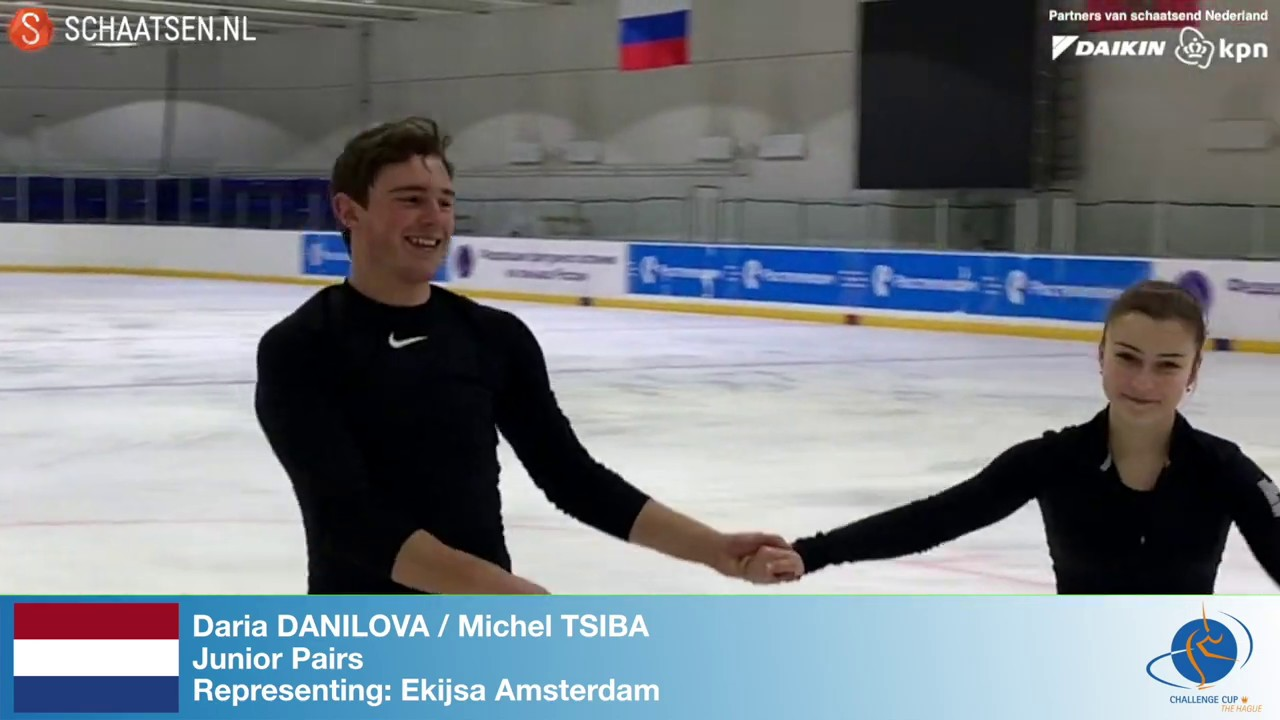 Daria Danilova And Michel Tsiba Cc2019 Invitation