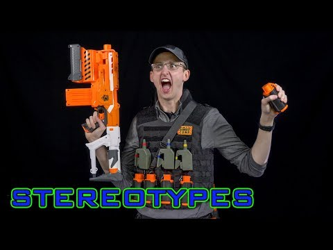 NERF STEREOTYPES | THE DEMOLITIONS EXPERT