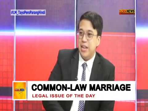 LEGAL MINDS: COMMON-LAW MARRIAGE or LIVE-IN