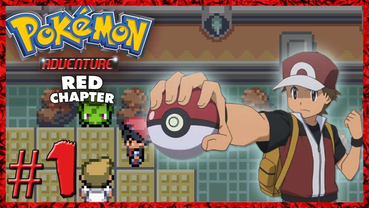 pokemon adventure red chapter ep 1 red 39 s adventure begins rom hack youtube