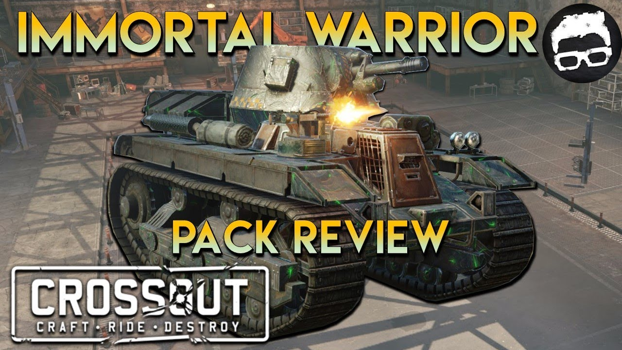 Crossout -- Immortal Pack Review