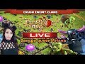 coc girl live/clash of clan india lets visit your base  /Savage Queen