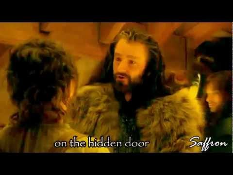 The Hobbit // Song of the Lonely Mountain (lyrics) +  Misty Mountains -Thorin's Song (RA)