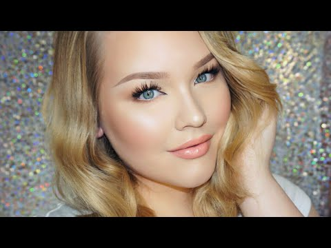 Glowy Daytime Glam Makeup + Hair Tutorial thumbnail