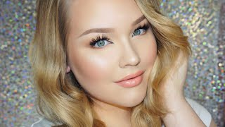 Glowy Daytime Glam Makeup + Hair Tutorial