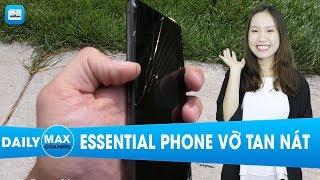 """MaxDaily 12/09: """"Kẻ hủy diệt iPhone 8"""" vỡ tan tành khi thử độ bền"""