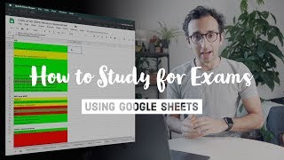 How to Study for Exams with Google Sheets