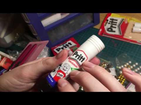 ASMR Organising Arts and Crafts Supplies (Part 1)