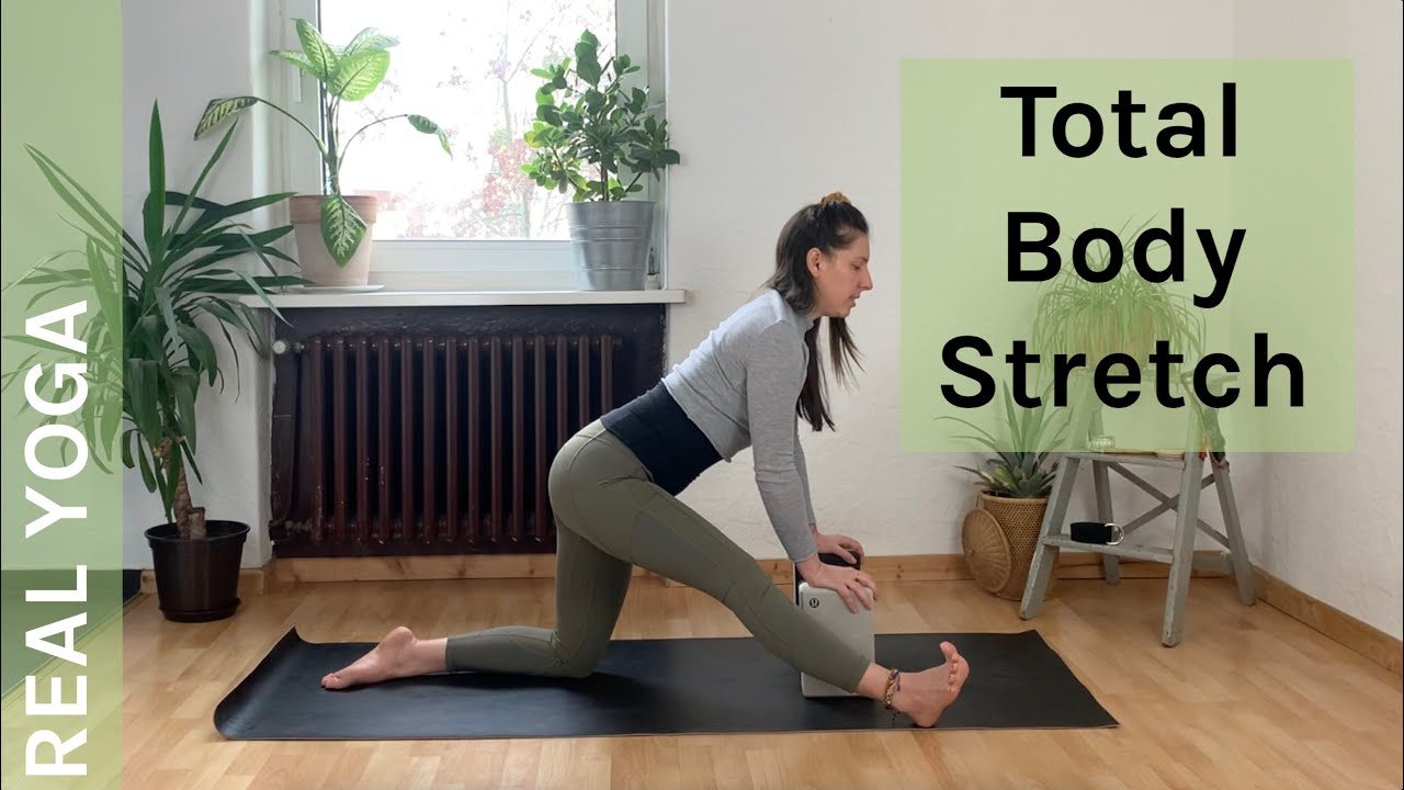 Total Body Stretch | *FULL LENGTH CLASS* | Yoga for Triathletes 🏆 | Stretch & Release | REAL YOGA