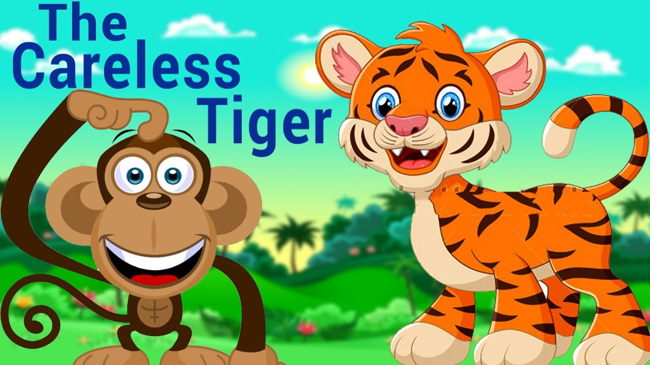 Short kids stories in english the careless tiger - Show me a picture of the tiger ...