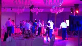 подсветка зала на свадьбу