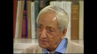 J. Krishnamurti - Ojai 1983 - Conversation with Jonas Salk - What makes us change?