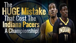 The HUGE DRAFT MISTAKE That Cost The Indiana Pacers A CHAMPIONSHIP!