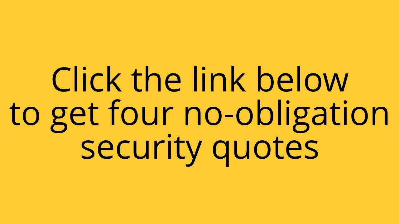 Security Quotes Los Angeles Home Security Quotes Los Angeles Home Security  Youtube