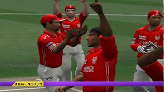 EA CRICKET 18 PC Gameplay - Kings XI Punjab Vs Kolkata Knight Riders - 10 Overs Match Part 1