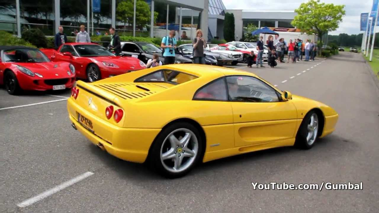 Ferrari F355 Gts Accelerating Sound 1080p Hd Youtube