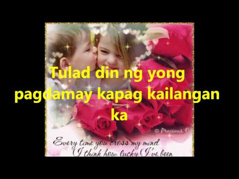 KAIBIGAN BY..SARAH GERONIMO  WITH LYRICS..MSKENNY143