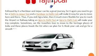 Delhi to Jaipur taxi by car