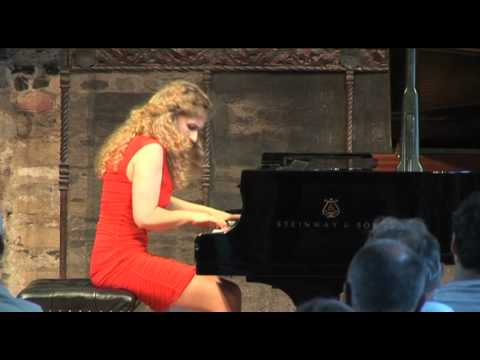 Liszt Tarantella finale played by Veronika Shoot