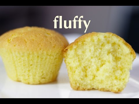 vanilla cupcake - fluffy, moist, cupcake recipe - Cooking A