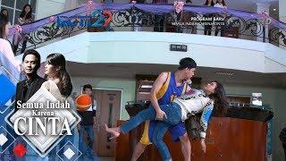 SEMUA INDAH KARENA CINTA - Wow Aviv Menolong Bella Saat ingin Terjatuh [8 JULI 2018]