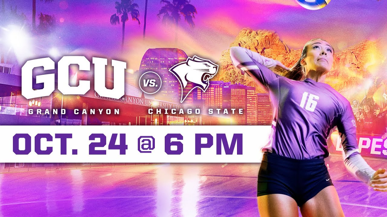 GCU Women's Volleyball vs Chicago State October 24, 2019