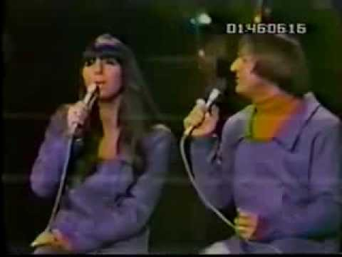 Sonny and cher 1965 What now my love live on American TV