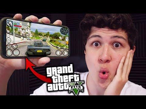 JUEGO GTA 5 En ANDROID! Grand Theft Auto V - GTA V