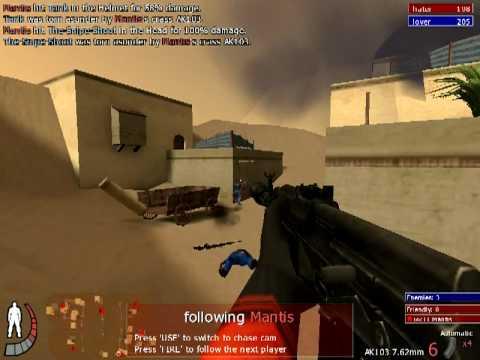 Match Urban Terror 101 (Riyadh - Cheater: Mantis)