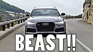 THE ULTIMATE DAILY DRIVER: 730BHP AUDI RS6!!
