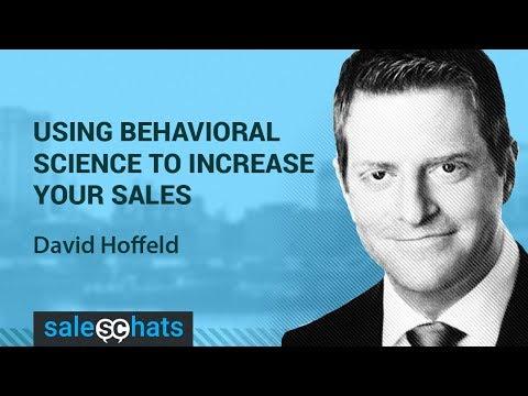 SalesChats E14 David Hoffeld  Use Behavioral Science & Increase Your Sales