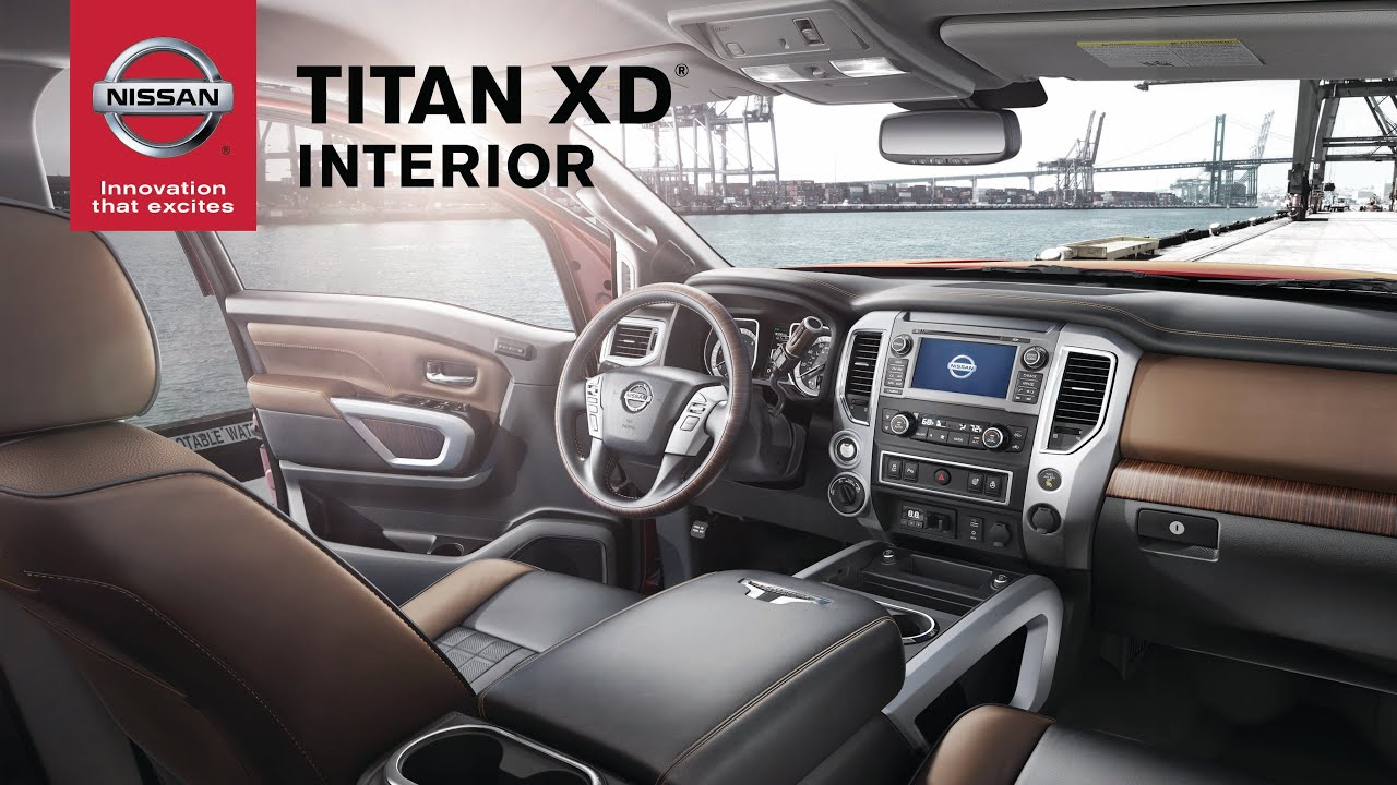Nissan TITAN XD Interior Features: Air Conditioning, Heated Seats and In-Cabin Microfilter
