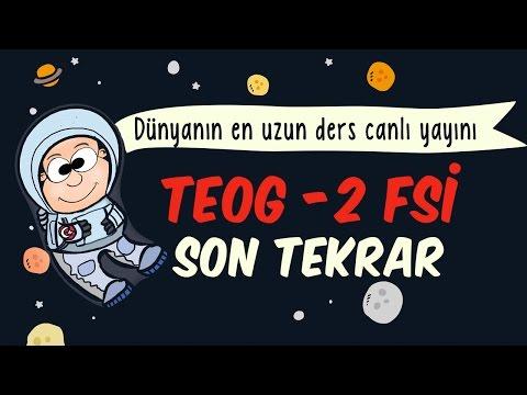 Teog - 2 FSİ Son Gün Tekrarı