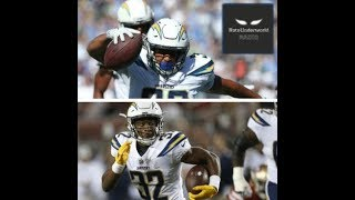 Austin Ekeler vs. Justin Jackson: Who is the Chargers satellite back of the future?