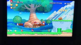 Chomps&Jello New Super Mario Bros. U Deluxe Acorn Plains 1-3, 4