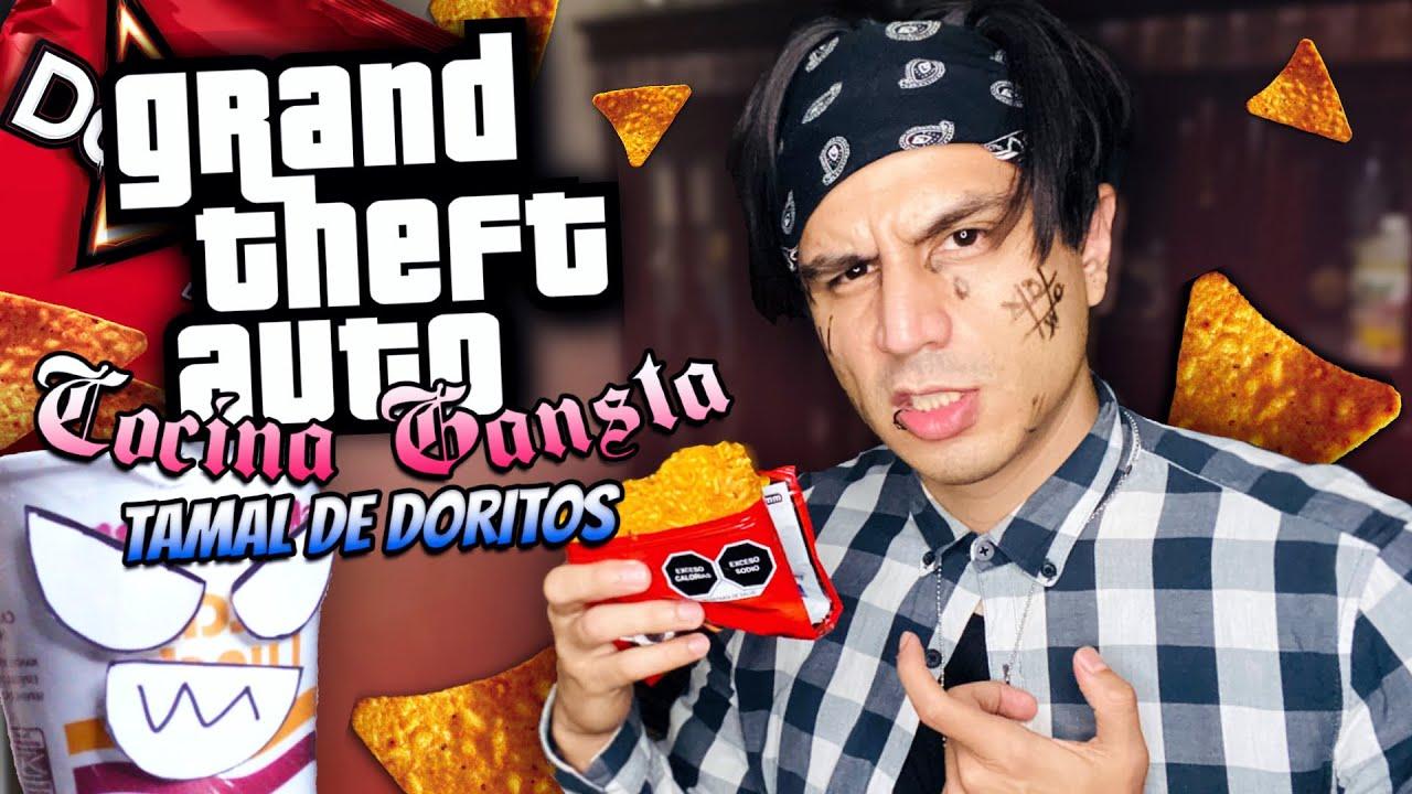 TAMAL de DORITOS! - RECETA GANSTA