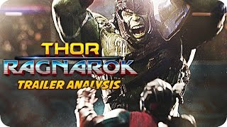 THOR 3: RAGNAROK Trailer Breakdown & Analysis (2017)