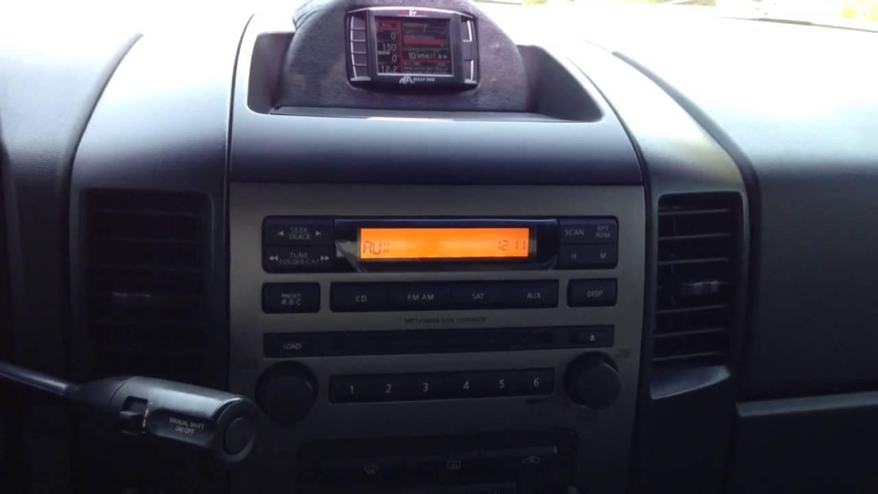 Nissan Titan Custom Stereo With Stock Deck Youtube