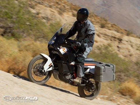 2011 KTM 990 Adventure R Off-Road Ride - MotoUSA